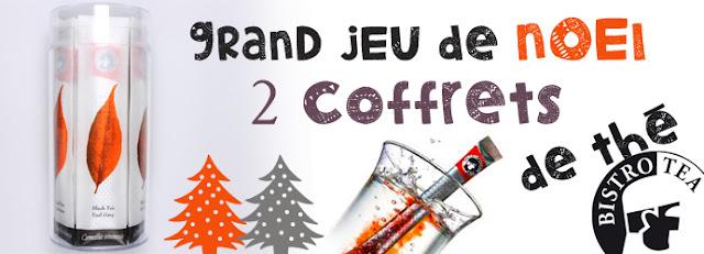 Jeu Bistrotea et Mademoiselle Bons Plans: 2 coffrets de thé à gagner