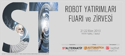 Robottechnic robot yatırımları fuarında
