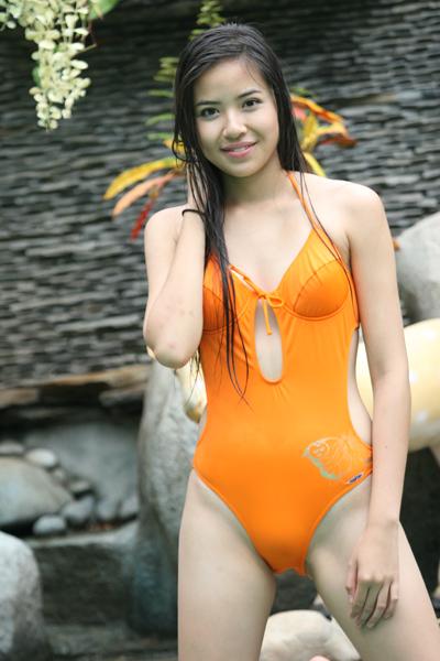 Queen of Vietnamese Bikini Models