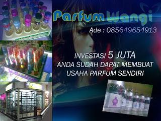 PAKET USAHA PARFUM 1 JUTA - 5 JUTA