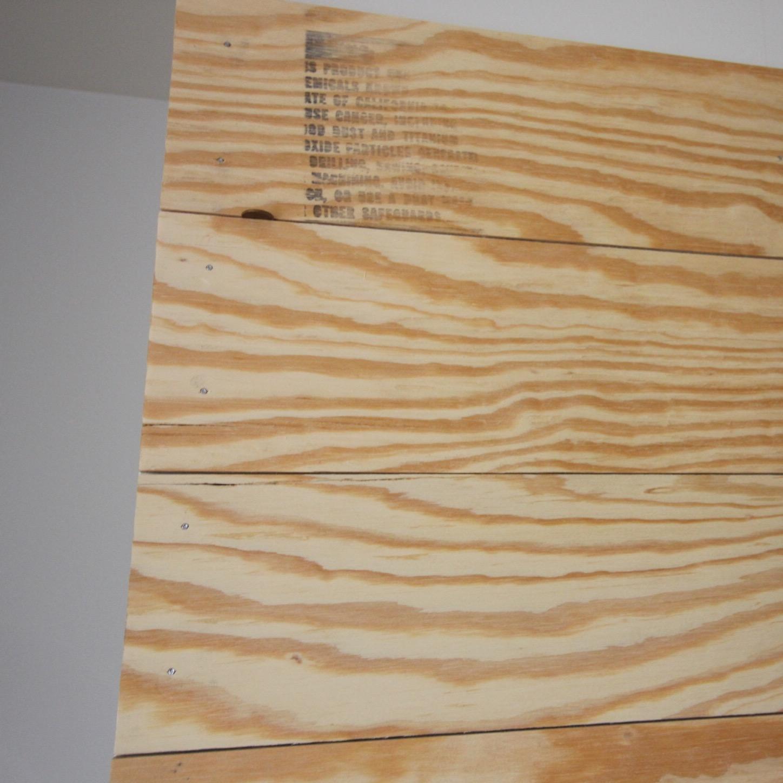 Stylin in St Louis DIY Faux Shiplap wall
