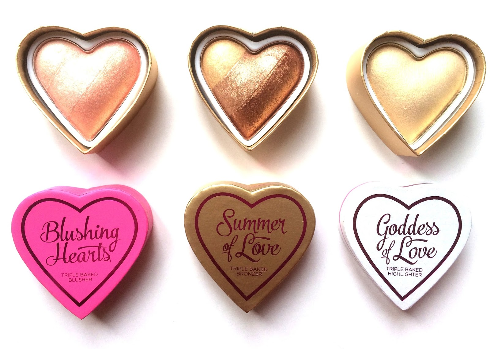 i heart makeup blushing hearts review