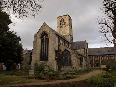 Iglesia St. Mary de Crypt de Gloucester