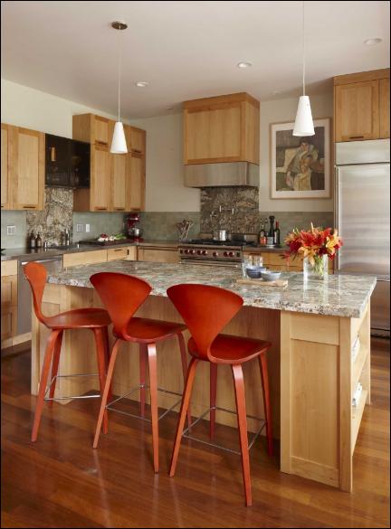 Orange Kitchen Ideas  Country Homes