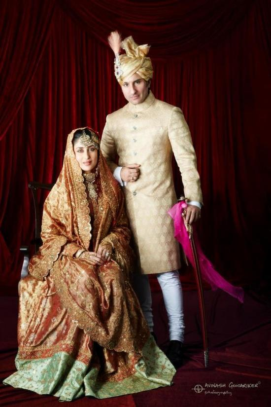 ���� ���� ������ �������� ������ Official-Wedding-Pic-Of-Saif-Kareena-As-Nawab-And-Begum.jpg