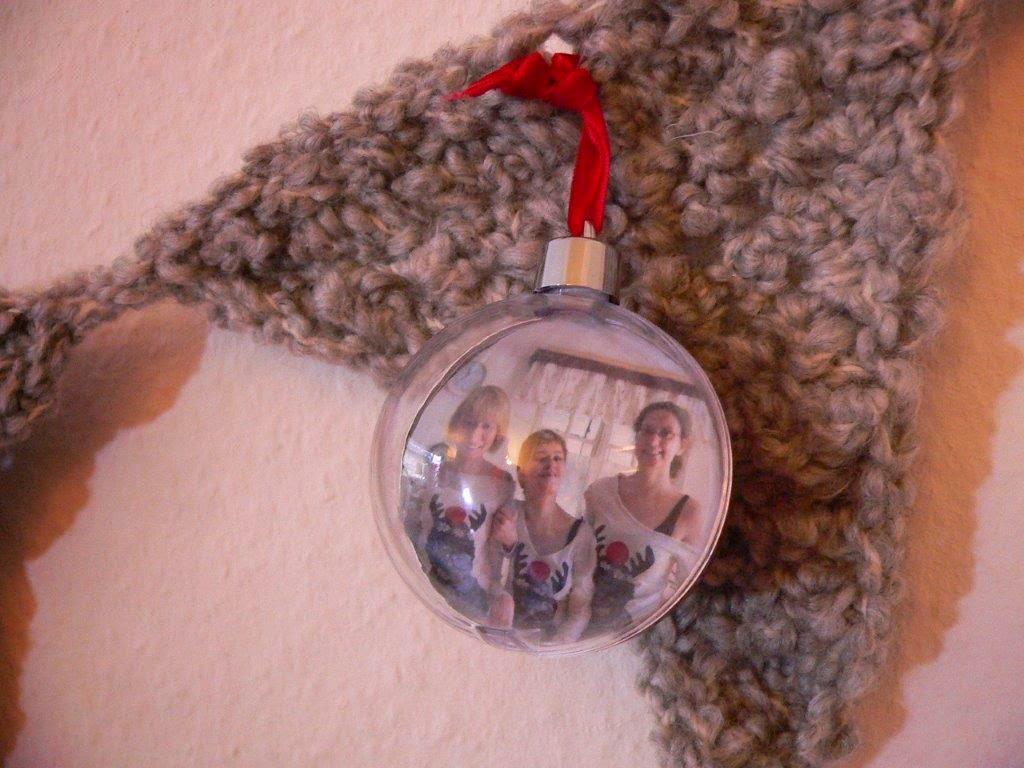 Girlande Weihnachten Kugeln Weihnachtskugeln DIY Häkeln Handarbeiten Deko