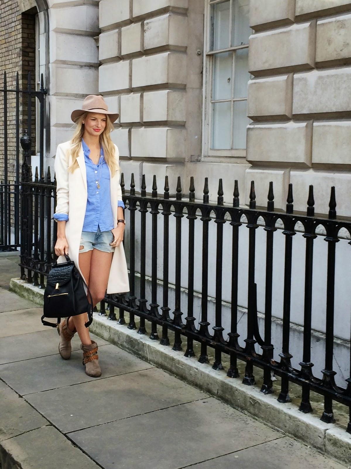 london fashion week street style, somerset house street style, LFW SS 15 Street style