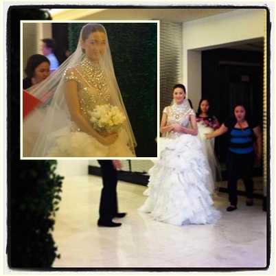 Maricar Reyes, Richard Poon's bride