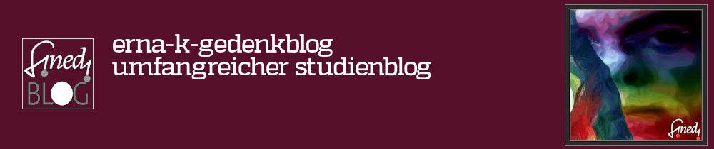 Erna Kronshage Studienblog
