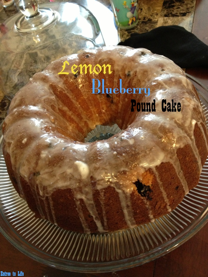 Blueberry-Sour Cream Pound Cake With Lemon Cream Recipes — Dishmaps
