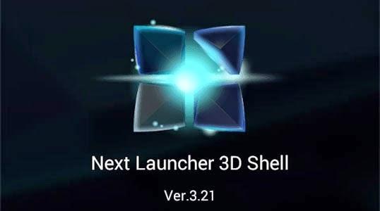 next launcher 3d shell full apk download