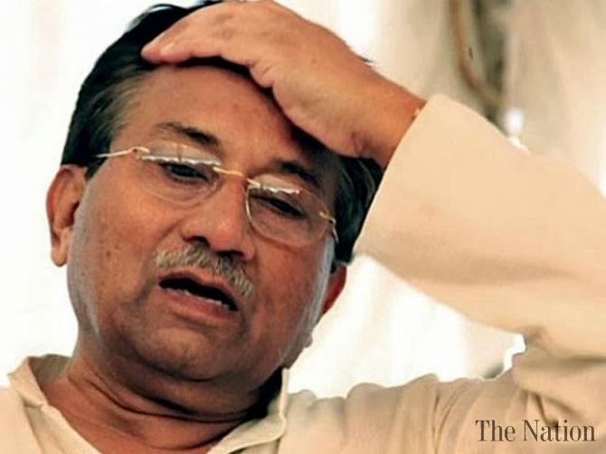 Abogados se reúnen Musharraf en un hospital