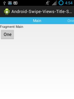 Membuat Aplikasi Android dengan Navigasi Swipe, ViewPager, Title Strip ...