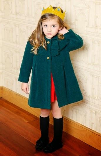 abrigo niña Sanmar