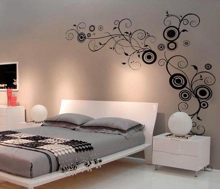 Fuente suarez arquitectos cenefas decorativas en tu hogar for Vinilos decorativos para habitaciones matrimoniales