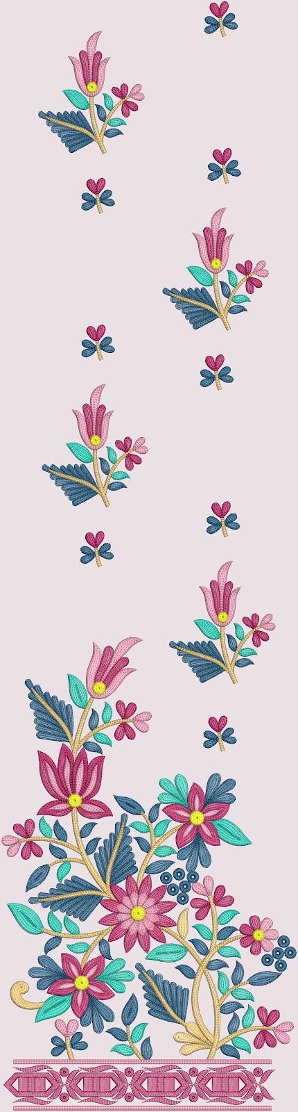 Computer Embroidery Designs For Salwar Kameez  Embdesigntube