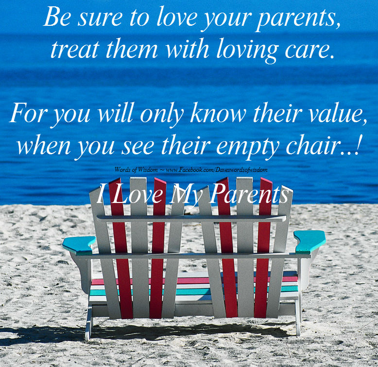 values parents take for granted I asked readers what did you learn from your parents 2 they taught me to never take anything for granted 3 so, integrity to the values you hold and want your children to follow was something my dad taught me.