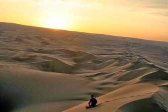 Perdido en el desierto