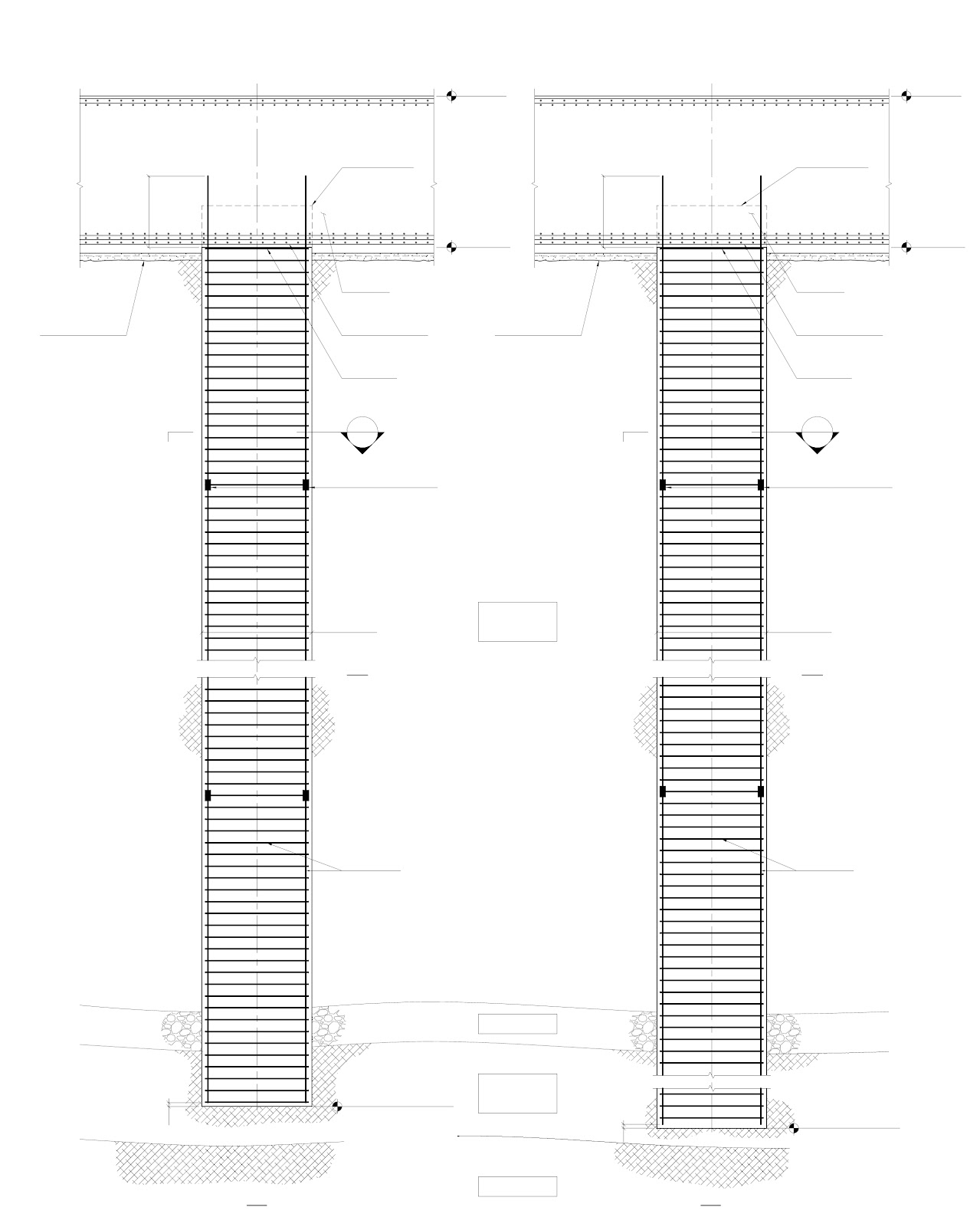 World of architecture kingdom tower plans test pile blueprints blueprint detail of two testing piles of kingdom tower worlds tallest building under construction in malvernweather Gallery