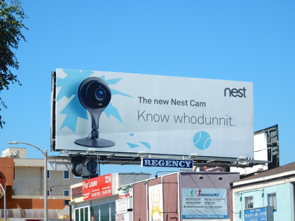 Know Whodunnit Nest Cam billboard
