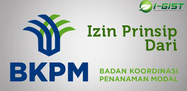 Izin Prinsip dari BKPM