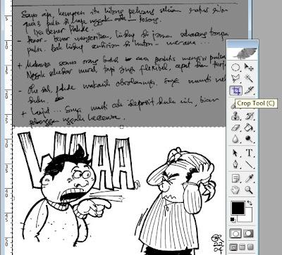 Cara Mewarnai Gambar Kartun