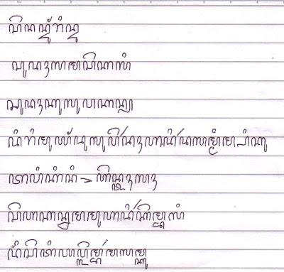 Belajar Aksara Jawa Kuno
