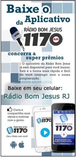 BAIXE O APLICATIVO DA RÁDIO BOM JESUS