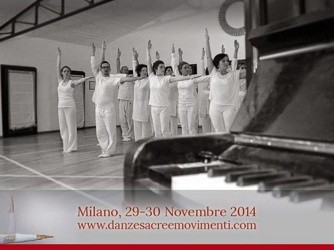 Sabato 29 e domenica 30 novembre ai Frigoriferi Milanesi di Milano: ritrovate l'armonia col seminario Danze Sacre e Movimenti