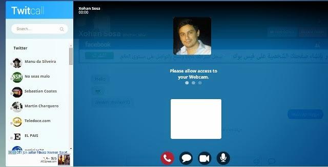 Twitcall - Twitter Videochat Platform