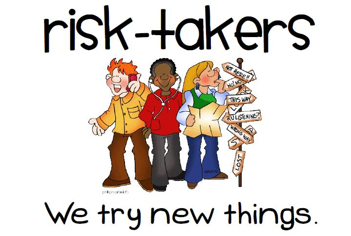 Learning at Al Manhal is Where All The Fun Begins Risk Taker Clipart