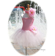 Fairy Pink Toddler Tutu Dress - Matching Headband