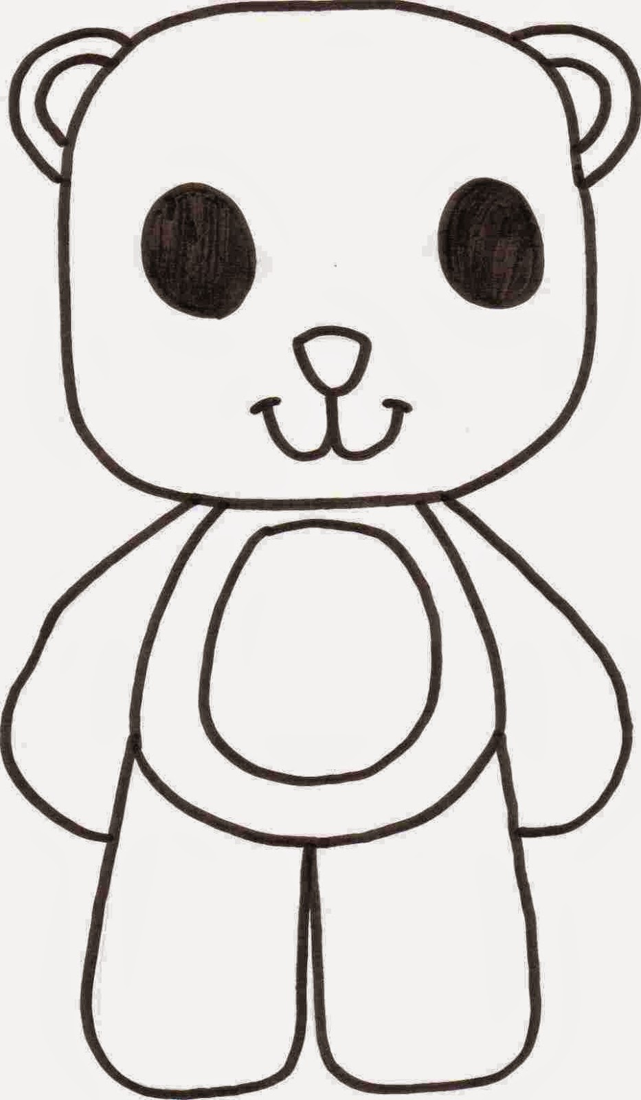 Coloring Pages Bear Free Printable