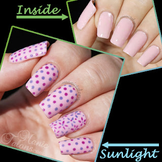 IBD Just Gel Sole Nail Art