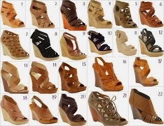 Koleksi model sandal wedges terbaru di jual harga murah ...