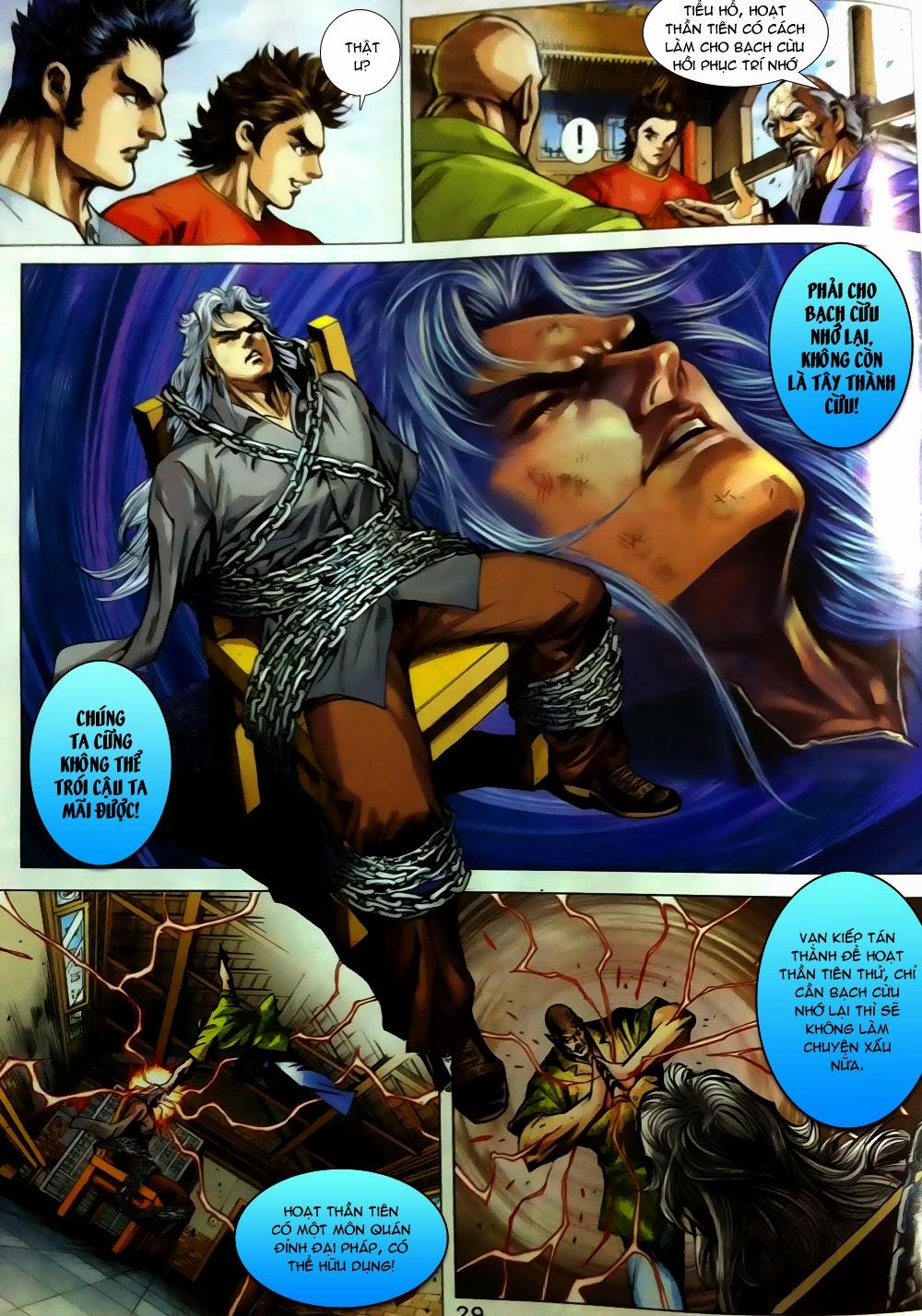 Tân Tác Long Hổ Môn chap 780 Trang 29 - Mangak.info