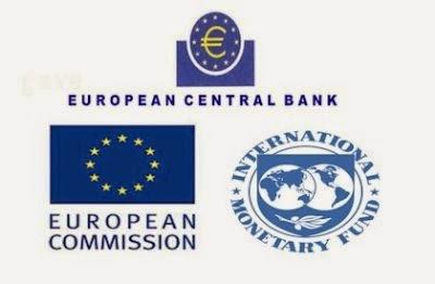 ECB, EC, IMF