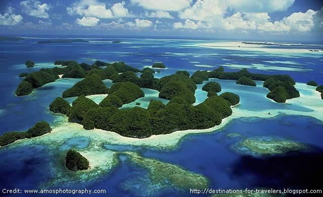 Ilhas Rock de Palau