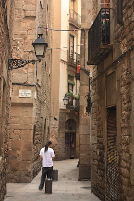 Carrer de Marlet in the Jewish Quarter