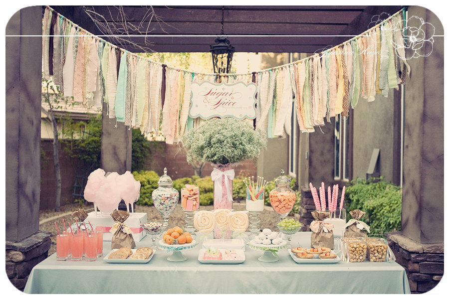 Karas Party Ideas Sugar and Spice and Everything Nice Vintage Party