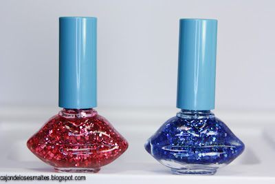 VDL Festival nails glitter (G Bomb)