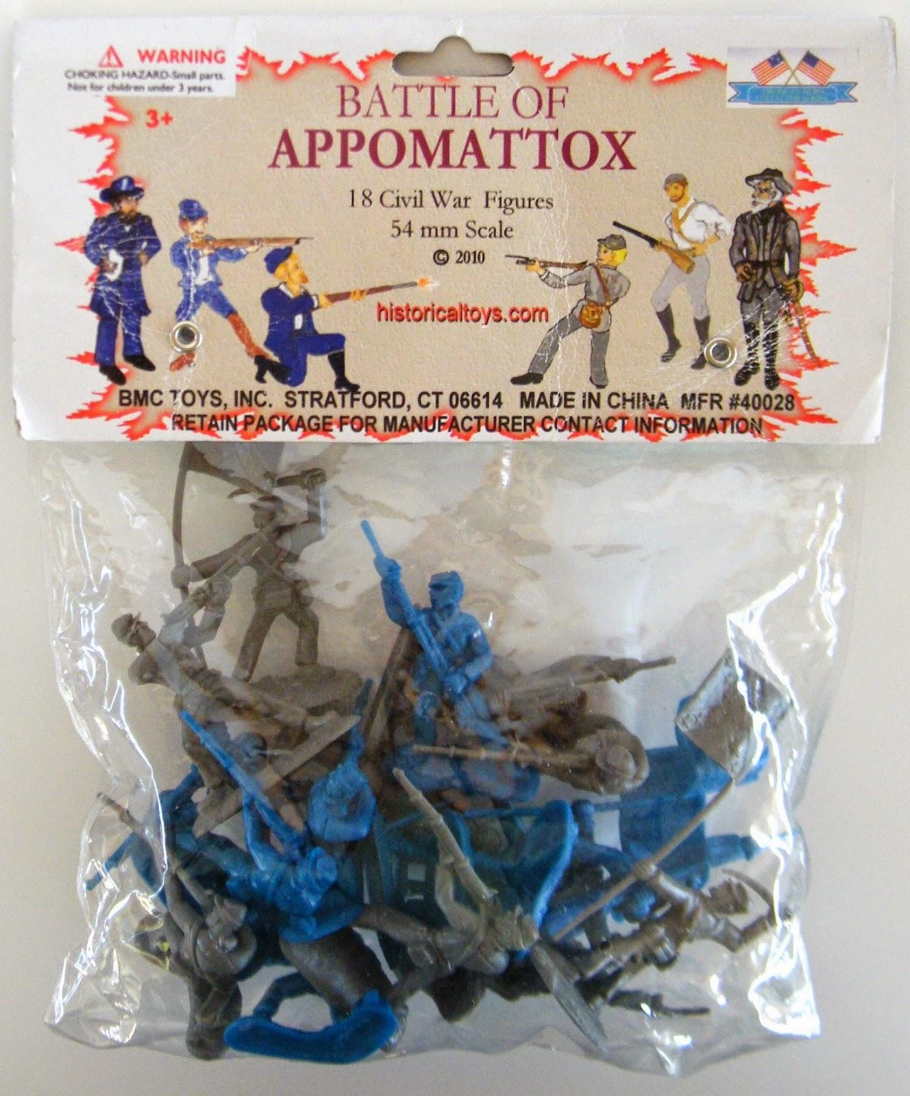 Toys and stuff bmc 40028 battle of appomattox for M and m motors appomattox