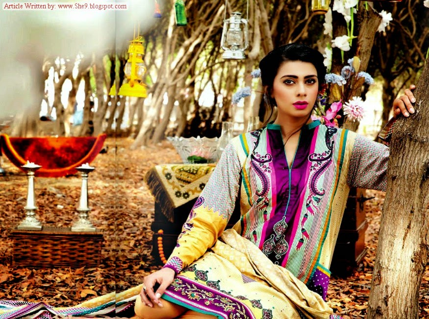 Ittehad Cotton Series Midsummer Collection 2014