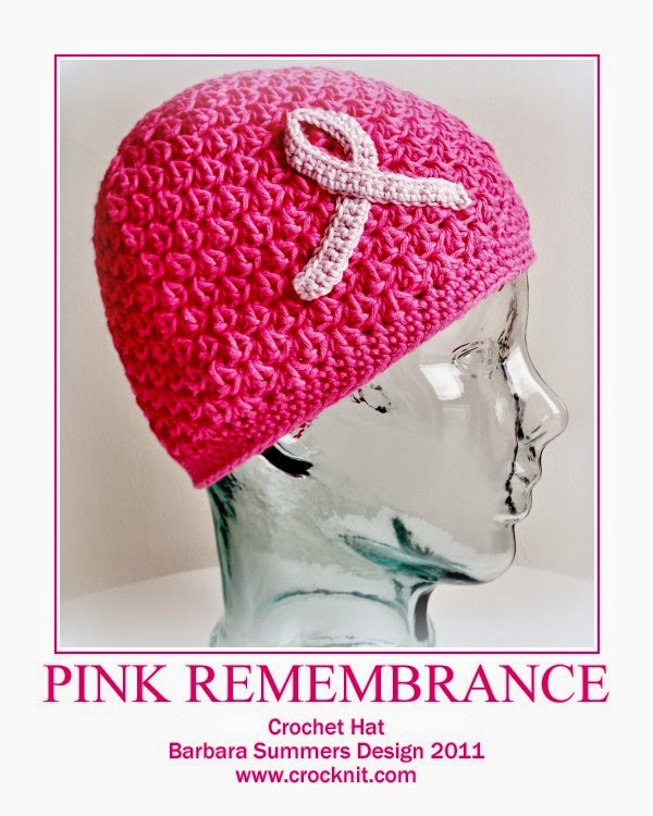 PINK REMEMBRANCE Hat