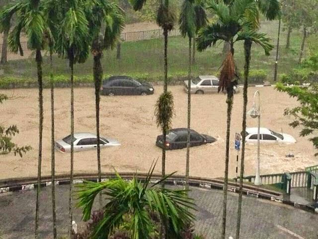 Universiti Islam Antarabangsa Malaysia Alami Banjir Kilat