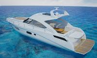 3d model boat searay yacht