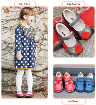 Kai by See Kai Run kids shoes