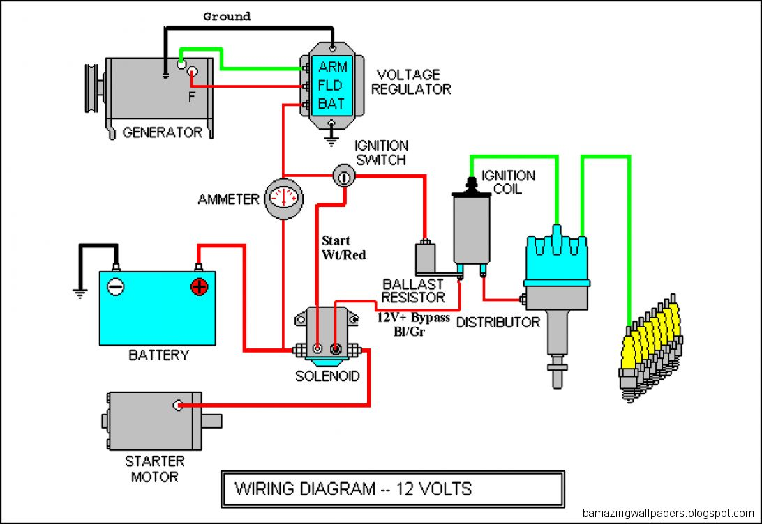 car electrical diagram  Car Engine Diagrams