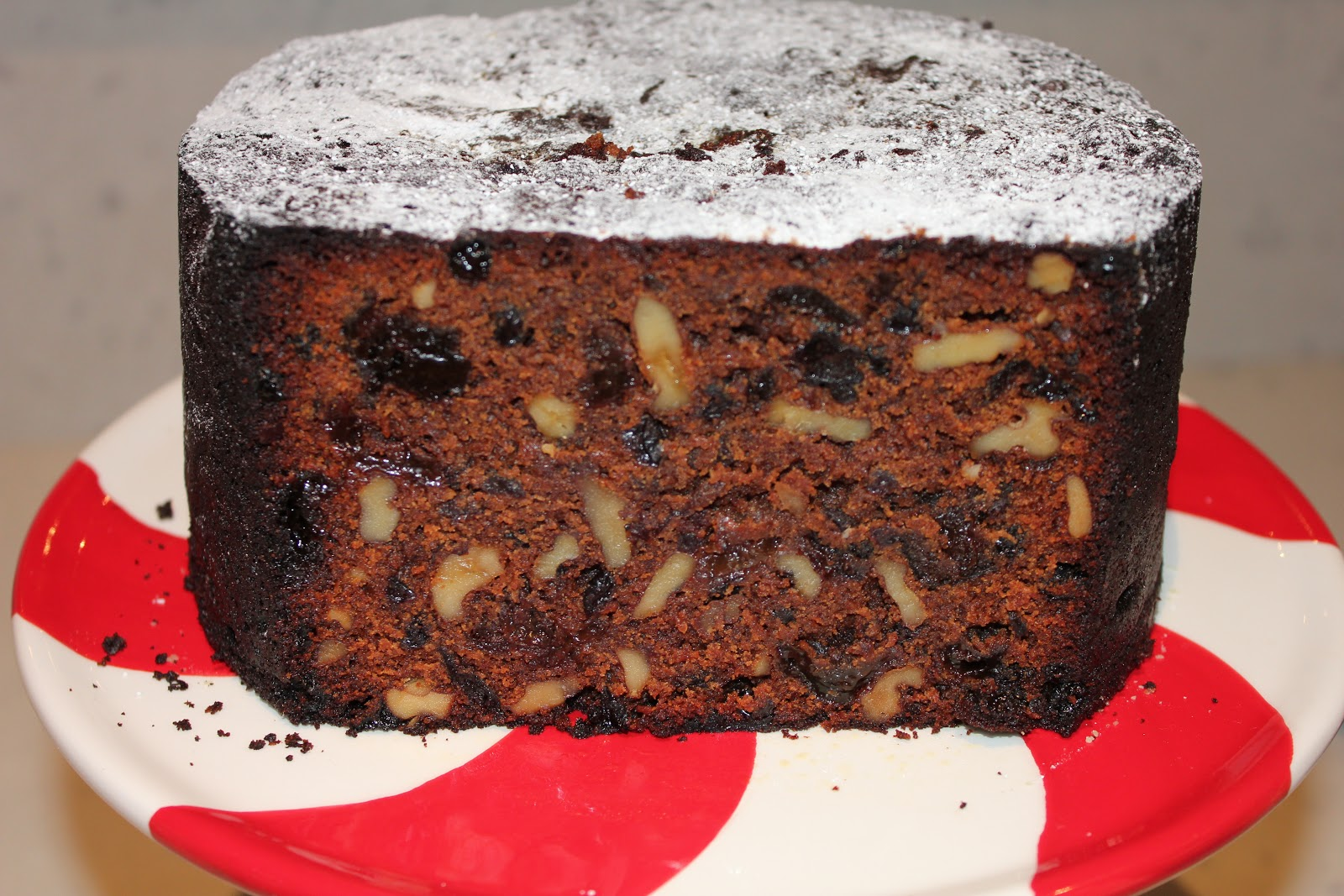 Nigella Christmas Cake Decoration : The Baking Dad: Nigella s Chocolate Christmas Cake 2012