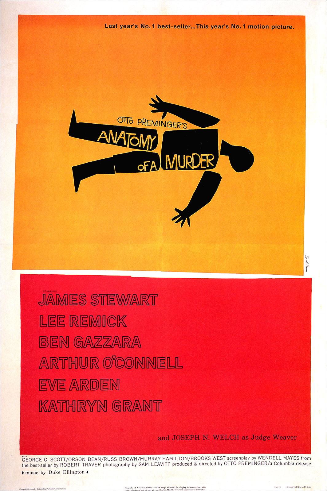 DEEPREDS KINO: Anatomie eines Mordes (1959)